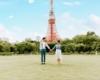 東京前撮り 東京タワー カップルフォト