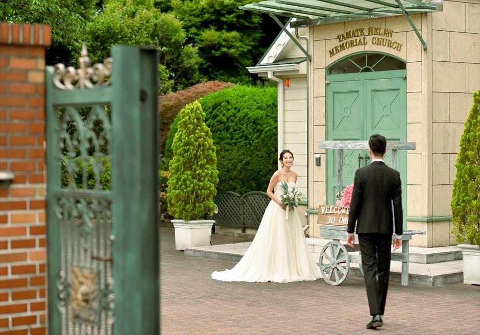 横浜結婚式 横浜前撮り 山手ヘレンチャペル前撮り