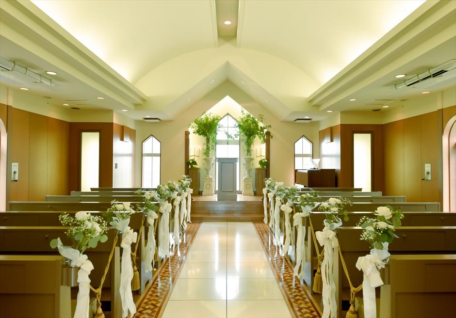 横浜教会結婚式 山手チャペルウェディング チャペル・フォトウェディング